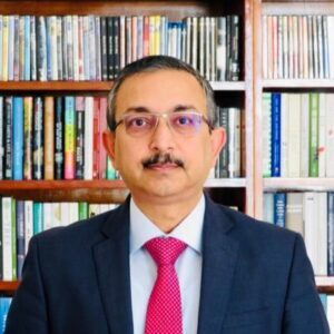 H.E. Ambassador Tanmaya Lal is a 55-year-old Indian diplomat with nearly three decades of experience. He served as High Commissioner to Mauritius from 2019 to 2020 and as Ambassador/Deputy Permanent Representative of India to the United Nations Permanent Mission of India in New York from 2016 to 2018. As the Head of the UN Economic & Social (UNES) Division at headquarters and earlier in the Indian Missions in Vienna, Nairobi, and Bangkok, he worked extensively on multilateral aspects of India's engagement. Climate Change negotiations at the UNFCCC, Agenda 2030, the Human Rights Council, UN agencies, marine concerns, and the Arctic Council were among his responsibilities at the headquarters.